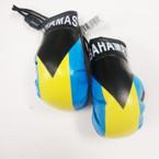 "Pair of 4"" Boxing Glove Country Hangers Bahamas 6 prs per pk $ 1.25 ea set"