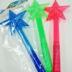 "14"" Multi Function Flashing Star Wand $ 1.00 ea"
