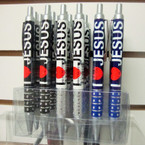 I Love Jesus Ball Point Pens 24 per display unit .42 each
