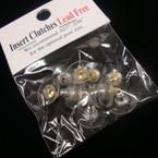 Lead Free Insert Earring Clutch Backs 5 pr per pk .54 per pk