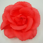 "6"" Silk Flower Bow 3 in 1 Use All Peach Color .54 ea"