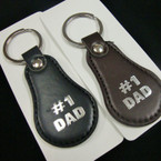 # 1 DAD Keychain Black & Brown Colors .60 ea