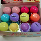 Hot Seller Roll on Fruit Lip Balm 24 per display .55 ea