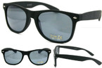 Popular Wayfarer Look Sunglasses All Black Soft Touch Material  $ 1.00 ea
