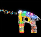 "5.5"" x 6"" Bubble Gun w/ Flashing Lights & Sound sold by pc  $2.85 ea"