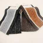 "2 Pack 3"" Multi Tone Stretch Headwraps 2 Color Groups .41 per set"