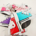 "3"" Converse Sneaker Look Keychains Mixed Colors .54 ea"