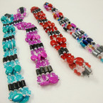"34"" Mixed Color Magnetic Bracelet/Necklace w/ Oval Beads .54 ea"
