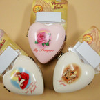 "2"" Ceramic Prayer Boxes Mixed Styles 4 per sale Only .80 ea"