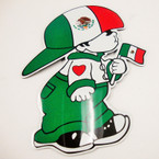 "6"" Mexico Little Boy w/ Flag Anywhere Magnet 12 per pk  .33 ea"