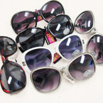 Ladies Mixed Fashion Sunglasses 36 per pack (SF19)Only $ 1.00 ea
