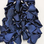"""3-3.5"""" All Navy Blue Color Gator Clip Bow 24 per pack .27 ea"""