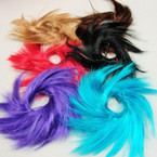Funky Color Hair Twisters Mixed Colors 24 per pk .25 ea