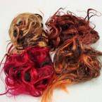 Mixed Style  Color Imitation Hair Twisters Mixed Colors 12 per pk .25 ea
