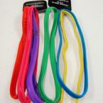 3 Pack Bright Color NO-SLIP Silicone Headwrap NO METAL .54 per set