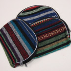 "5"" X 6"" Tribal Print Zipper Make Up Bag .54 ea"