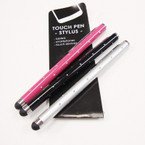"4"" Mixed Color Stylus Touch Pen Diamond Look  .56 ea"