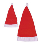 "13"" All Red Adult Size Santa Hats  12 per pack ONLY .50 ea"