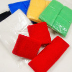 Sweatband & Wrist Band Set Asst Colors .56 per set