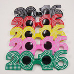 2016 Party Novelty Glasses Diamond Look  Asst Colors ONLY .79 ea