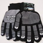 Black w/ White Grip Dot Sports Style Winter Gloves ONLY .58 ea pair