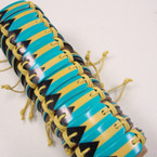 Bahama Flag Plaque Leather Bracelets .54 ea
