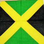 """21"""" Square Bandana Jamaica Flag .50 ea"""