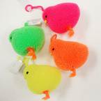 "3.25"" Chicken Theme Flashing Puffer w/ YoYo 12 per display bx .60 ea"