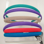 3 Pack Spring Color  Mix Thin Headbands .41 per set