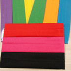 "3 Pack Soft & Stretchy 2"" Asst Color Headbands .54 per set"