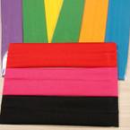 "3 Pack Soft & Stretchy 2"" Asst Color Headbands .54 per set"
