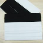 "3 Pack Soft & Stretchy 2"" Black & White  Headbands .54 per set"