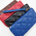 "Ladies 3.5"" X 7.5"" Padded Wristlet Wallets 12 per pk $ 2.50 ea"