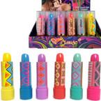 Magic Mood Lipstick Modern Print Case 36 pc display box .23 ea