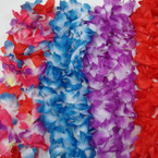 "20"" Bulky Hawaiian Leis Mixed Colors & Mixed .58 ea"