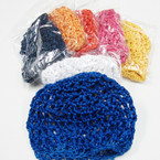 Crochet Hair Nets Asst Colors .54 ea