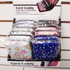 """3"""" X 4"""" Hard Plastic Case Card Caddy Wallet Asst Prints 12 per unit .65 ea pc"""