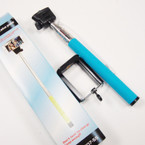 "Selfie Stick,  Self Portrait 36"" Extendable Handled Stick Blue sold by pc $ 2.50 ea"