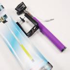 """Selfie Stick,  Self Portrait 36"""" Extendable Handled Stick Purple sold by pc $ 2.50 ea"""
