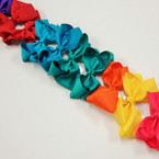 "3.5-4"" Asst Color Gator Clip Fashion Bow .27 ea"