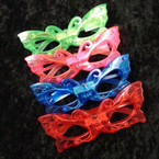 Butterfly Theme Flashing Novelty Glasses .55 ea