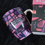 Give Thanks To The Lord Mosaic Coffee Mug Gift Boxed sold by pc $ 1.50 ea
