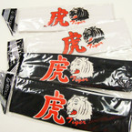 "CLOSEOUT 2.5"" Wide Blk/White Dragon Headwrap 23 per pk"