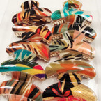 "3.5"" Jungle Print Fashion Jaw Clips .50 ea"