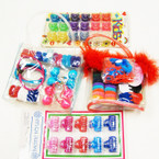 CLOSEOUT 18 sets per bag  Hair Accessory Pks .20 ea
