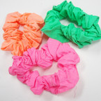 CLOSEOUT Neon Color Cotton Hair Twisters .21 ea
