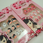 Kid's Cute Fashion Press On Nails (482)  .54 per set