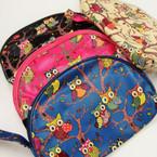 "Big Size 6"" X 8"" Owl Pattern Handle Bag ONLY .60 ea"