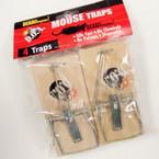 SPECIAL 4 Pk Mouse Traps 24-sets per bx .33 ea set