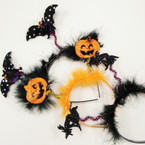 3 Style Halloween Theme Bopper Headbands .58 ea